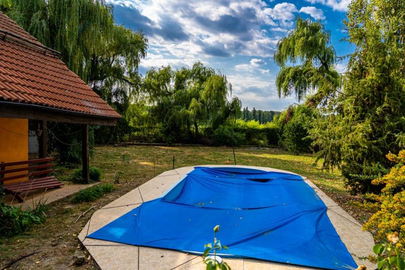 OPORTUNITATE! Vila cu 1800mp de teren cu deschidere 24m lac Snagov!