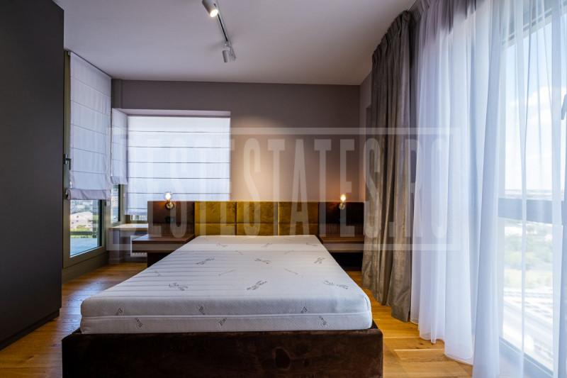 3 room, 2 bedroom luxury duplex in northern Bucharest Aviatiei